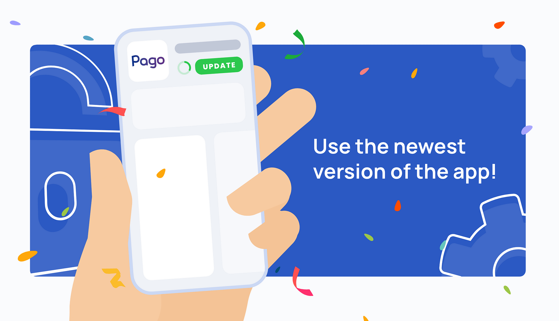 Updating the app, or how to use the latest version of Pago