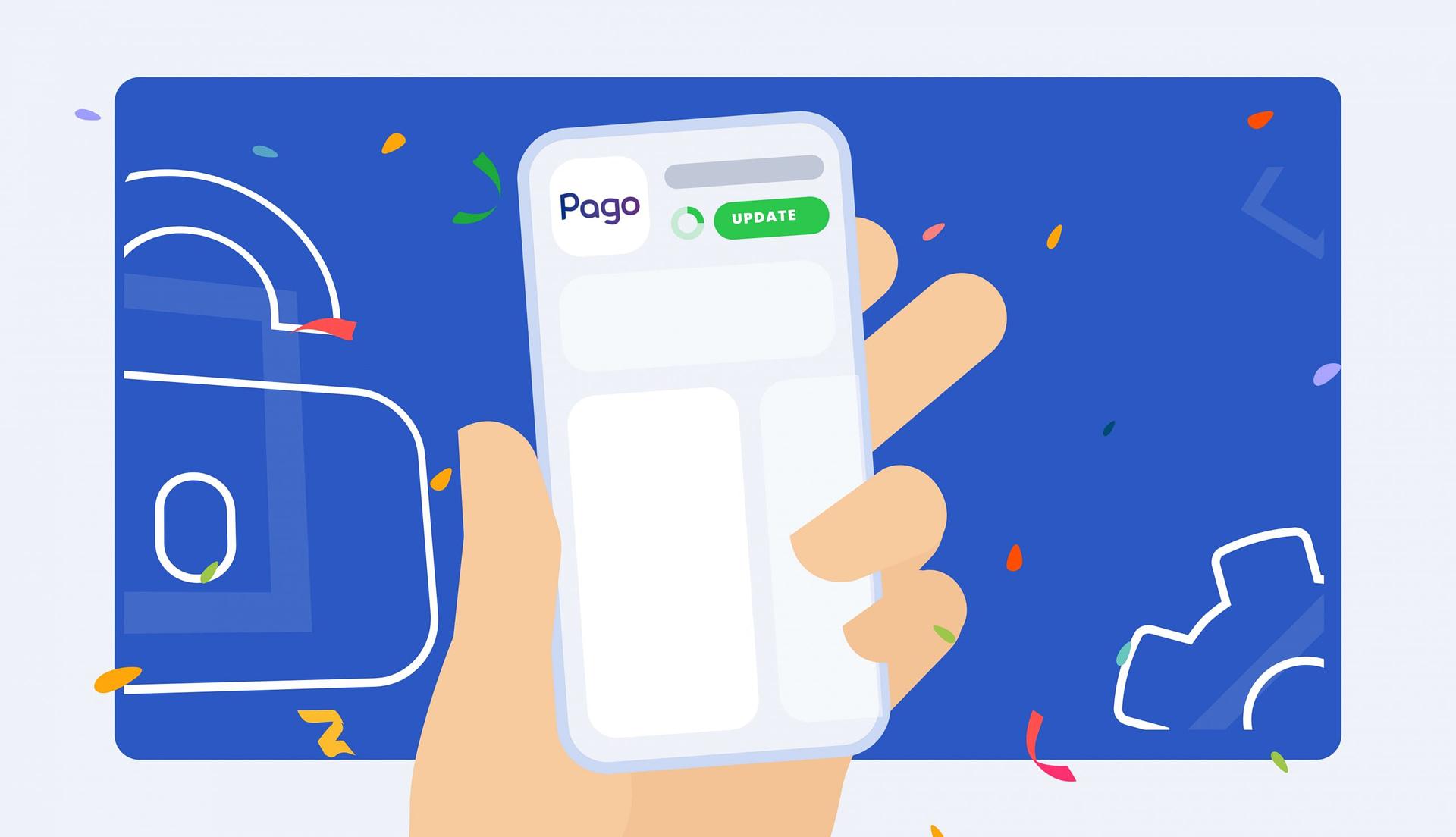 Actualizarea aplicației sau cum să folosești cea mai nouă versiune Pago